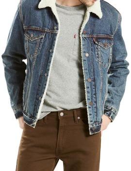 Faux Fur Collar Denim Jacket by Levi's