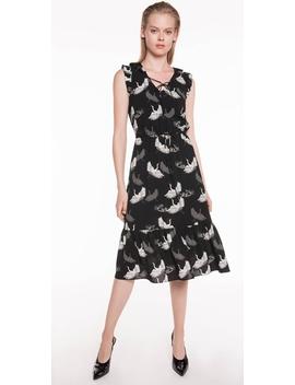 Crane Georgette Midi Dress by Cue