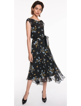 Painted Bluebell Midi Dress by Cue