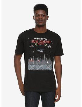 Die Hard Yippe Ki Yay 8 Bit T Shirt by Box Lunch