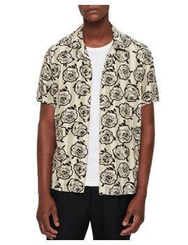 Ararmaki Slim Fit Camp Shirt by Allsaints