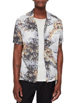 Chokai Slim Fit Print Sport Shirt by Allsaints