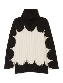 Oversized Wool Turtleneck Sweater by Valentino