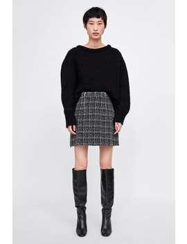 Tweed Skirt  Womanmust Have by Zara