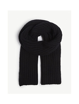 Ribbed Scarf by Pringle Of Scotland