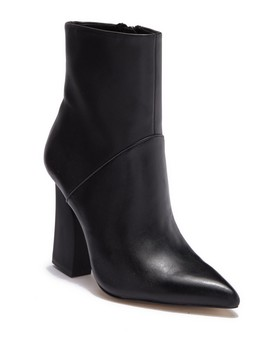 Quin Leather Bootie by Halston Heritage