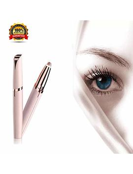 Electric Eyebrow Hair Remover Mini Eyebrow Trimmer Painless Safe Facial Hair Removal For Women As Seen On Tv (Battery Not Included) by Anario