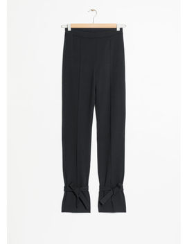 Leg Tie Pants by & Other Stories