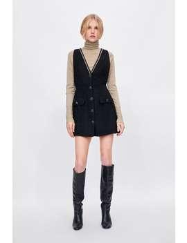 Tweedowa Sukienka  Zobacz Więcej Sukienki Kobieta by Zara