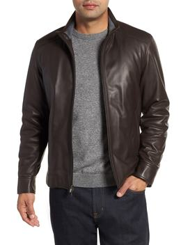 Leather Bomber Jacket by Peter Millar