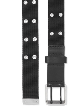 Canvas And Leather Belt by Rag & Bone