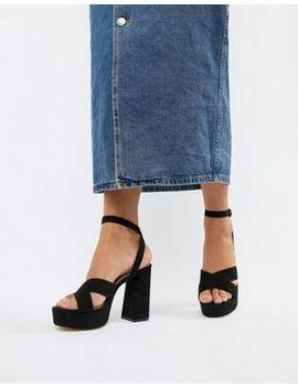 London Rebel Platform Sandals by Heels