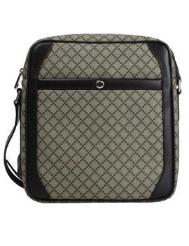 Beige/Ebony Coated Diamante 268159 9769 Beige/Ebony Canvas Cross Body Bag by Gucci