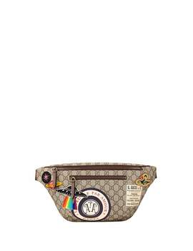 Gg Signature Patched Belt Bag by Gucci