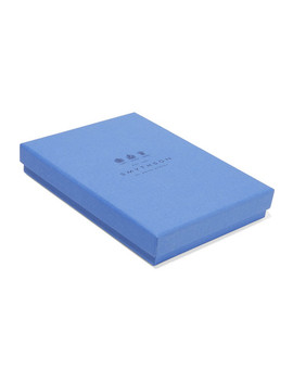 Panama Live, Love, Laugh Textured Leather Notebook by Smythson