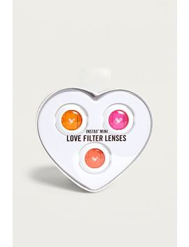Instax Mini Heart Lenses by Urban Outfitters
