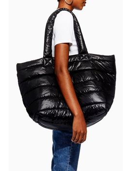 Tokyo Puffer Tote Bag by Topshop