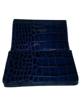 Royal Blue Cayman Embossed / Mggc3 Rb by Dooney & Bourke