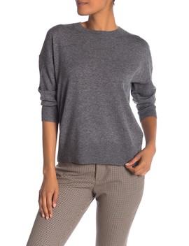 Melanie Wool & Cashmere Crew Neck Sweater by Equipment