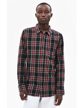 Pac Sun Tartan Plaid Flannel Shirt by Pacsun