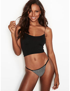 Sparkle V String Panty by Victoria's Secret