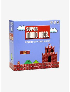 Super Mario Bros. Power Up Card Game by Hot Topic