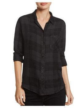 Hunter Plaid Shirt   100 Percents Exclusive by Rails