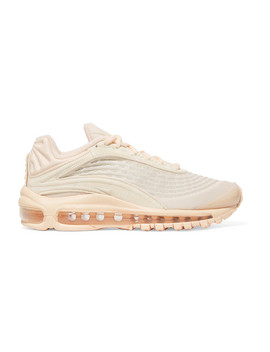Nike Air Max Deluxe Corduroy And Leather Sneakers by Nike