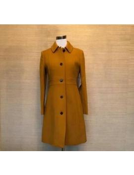 Nwt J Crew $350 Double Cloth Lady Day Coat W/ Thinsulate 8 Dark Amber 49622 by Ebay Seller
