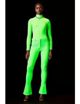 **Velvet Bodysuit By Topshop X Halpern by Topshop