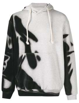 Spray Paint Hoodie by Maison Margiela