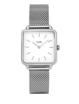 La Garçonne Cl0001 Stainless Steel Sqaure Analog Watch by Cluse