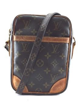 Danube Monogram Brown Coated Canvas Cross Body Bag by Louis Vuitton
