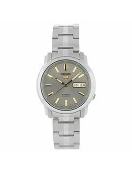 Seiko Unisex Adult Automatic Watch, Analogue Classic Display And Stainless Steel Strap Snkk67 K1 by Seiko