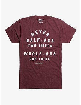 Parks And Recreation Ron Swanson Quote T Shirt by Hot Topic