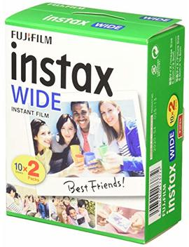 Fujifilm Instax Wide Instant Film, 20 Exposures, White, Old Packaging by Fujifilm