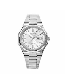Seiko Men's '5' Automatic Stainless Steel Sport Watch, Color:Silver Toned (Model: Snkk41) by Seiko