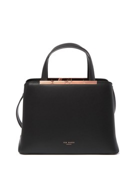 Naomii Smooth Leather Tote Bag by Ted Baker London