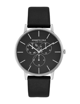 Men's Leather Strap Watch, 42mm by Kenneth Cole New York