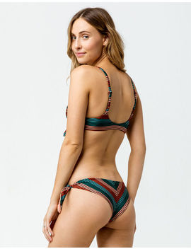 Rvca Frame Cheeky Bikini Bottoms by Rvca