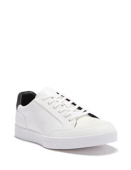 Izar Leather Sneaker by Calvin Klein
