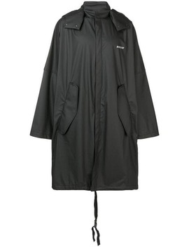 Zipped Hooded Coat by Ambush