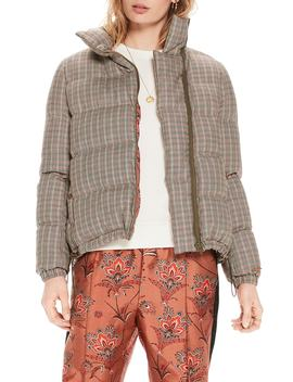 Quilted Check Jacket by Scotch & Soda
