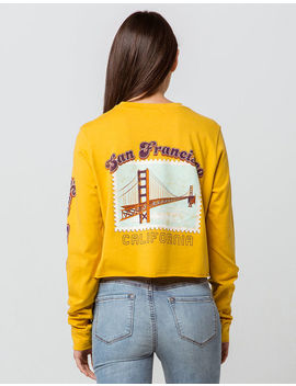 Full Tilt San Francisco Stamp Womens Crop Tee by Full Tilt