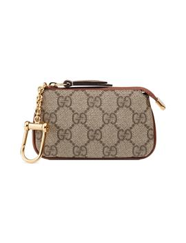 Linea Gg Supreme Canvas Key Case Pouch by Gucci