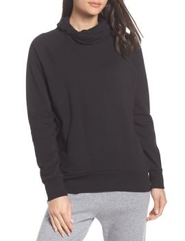 Erica Twist Cowl Neck Pullover by Zella