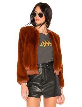 Frankie Faux Fur Jacket by Astr The Label