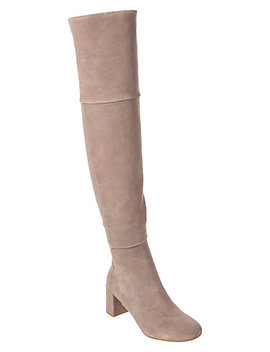 Taryn Rose Catherine Suede Over The Knee Boot by Taryn Rose