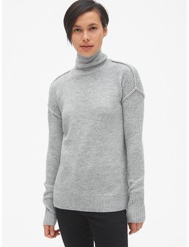 Brushed Turtleneck Pullover Sweater by Gap