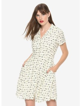 Outlander 1940s Shirt Dress Hot Topic Exclusive by Hot Topic